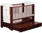Детская кроватка Klups Safari Zyrafka (с ящиком)