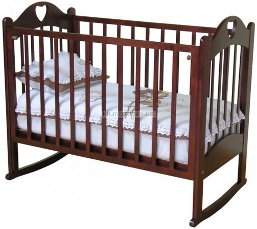 Детская кроватка Красная Звезда Любаша C635