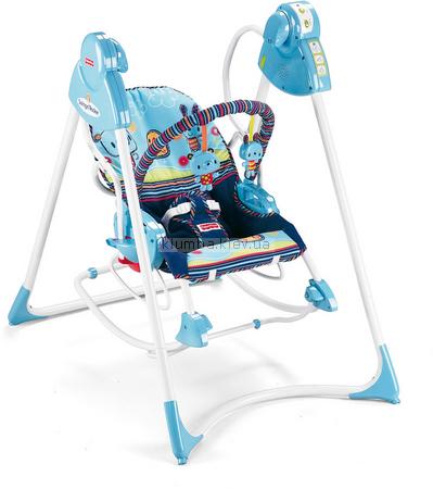 Детское кресло-качеля Fisher Price Мишки 3 в 1(Swing and Rocker) (p6948)
