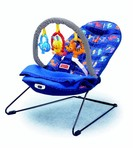 Детское кресло-качеля Fisher Price Массажное кресло с зафиксированным одеялком (h5126)