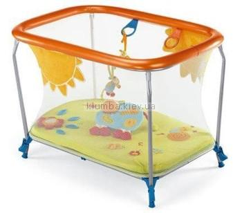 Детский манеж Brevi Soft and Play Green Farm