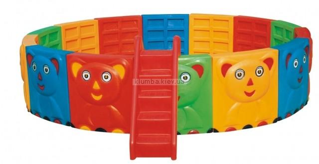 Детская площадка Inteco 2104A (игровой бассейн)