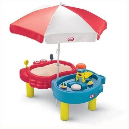 Детская площадка Little Tikes Тихая Гавань (игра с песком и водой)