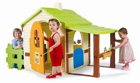 Детская площадка Starplast Фермерский дом с заборчиком