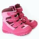 Ботинки зимние (221) розовые