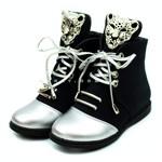 Ботинки демисезонные (YM261-A) черные