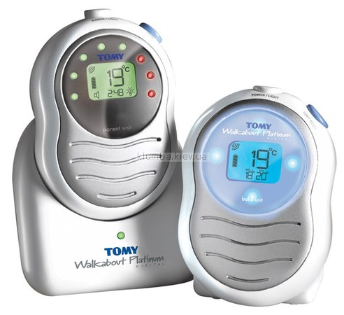 Детская радио/видео-няня Tomy Walkabout Platinum Digital 1245