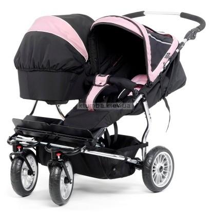 Детская коляска Emmaljunga Twin Cangaroo + 2 City Korg
