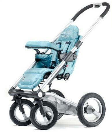Детская коляска Mutsy 4 Rider Single spoke (различные типы сидений)