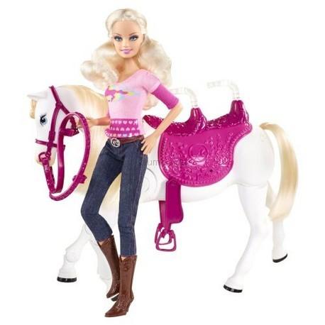 Детская игрушка Barbie Барби на конной прогулке