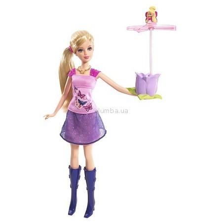 Детская игрушка Barbie Барби с Дюймовочкой в руке