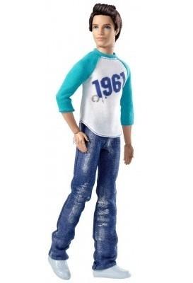 Детская игрушка Barbie Кен брюнет в джинсах