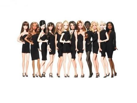 Детская игрушка Barbie Кукла серии Маленькое черное платье