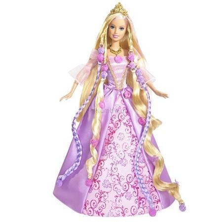 Детская игрушка Barbie Рапунцель Магические волосы