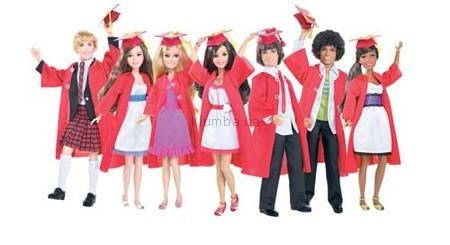 Детская игрушка Barbie Выпускники из фильма Школьный мюзикл