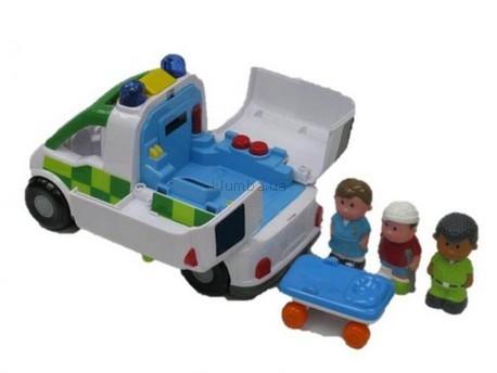 Детская игрушка BeBeLino Автомобиль скорой помощи