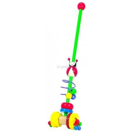 Детская игрушка Bino Каталка Божья коровка