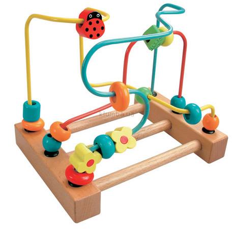 Детская игрушка Bino Лабиринт с бабочками