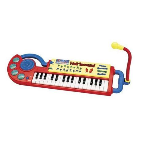 Детская игрушка Bontempi Электронная клавишная панель с микрофоном