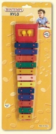 Детская игрушка Bontempi Ксилофон, 12 пластин