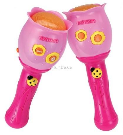 Детская игрушка Bontempi Маракасы для девочек электронные