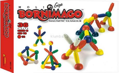 Детская игрушка Bornimago Магнитный конструктор (36 деталей)