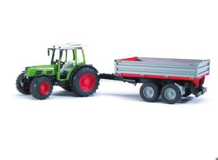 Детская игрушка Bruder Трактор Fendt 209 S с прицепом