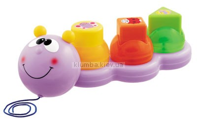 Детская игрушка Chicco Гусеница с формочками