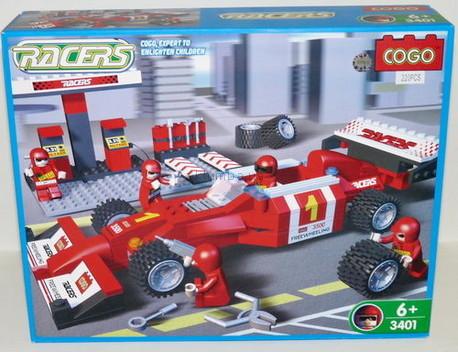 Детская игрушка Cogo Пит-стоп команда