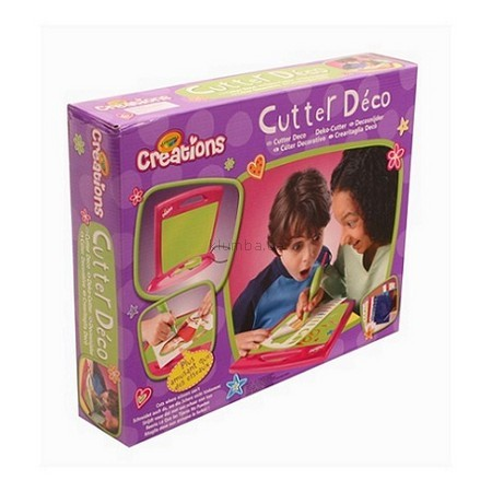 Детская игрушка Crayola Доска для вырезания с трафаретами
