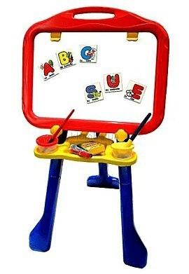 Детская игрушка Crayola Мольберт  напольный с 26 магнитными буквами