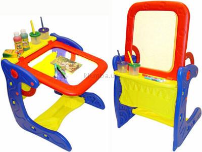 Детская игрушка Crayola Напольный мольберт-парта со стульчиком