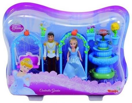 Детская игрушка Disney Мини Золушка с принцем и набором Чудесный сад