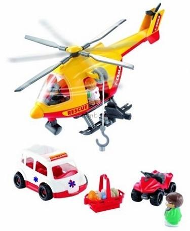 Детская игрушка Ecoiffier (Smoby) Спасательный вертолет с командой