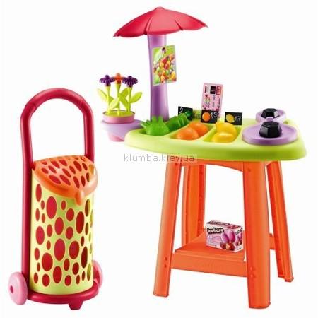 Детская игрушка Ecoiffier (Smoby) Фруктовая палатка с тележкой