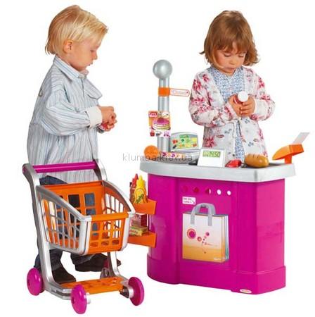Детская игрушка Ecoiffier (Smoby) Супермаркет с тележкой и аксессуарами