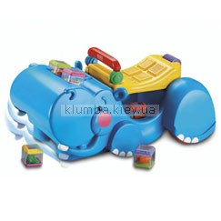 Детская игрушка Fisher Price Бегемот-ходунки