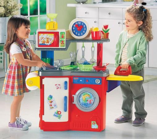 Детская игрушка Fisher Price Кухня Убираем и моем