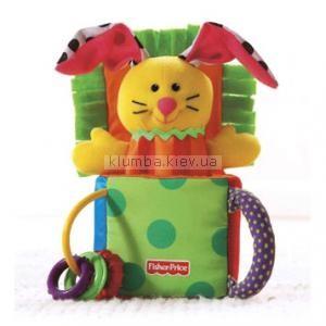 Детская игрушка Fisher Price Выпрыгиващий заяц