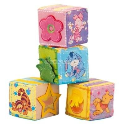Детская игрушка Fisher Price Кубики с Винни-Пухом