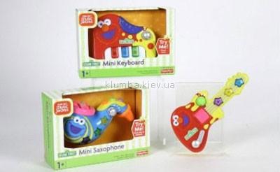 Детская игрушка Fisher Price Музыкальные мини-инструменты (Sesame Street)