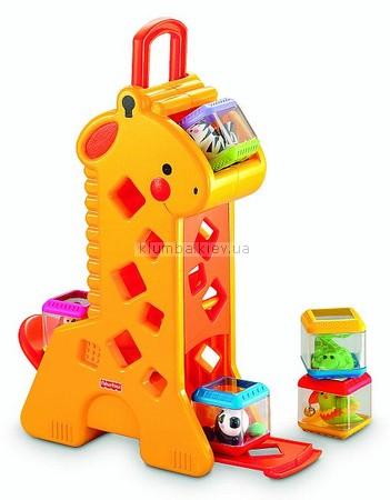 Детская игрушка Fisher Price Жираф
