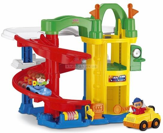Детская игрушка Fisher Price Маленькие человечки. Гараж