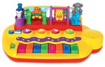 Детская игрушка Kiddieland Пианино  Зверята на качелях