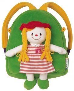 Детская игрушка K's Kids Мягкий рюкзак с игрушкой  Джулией