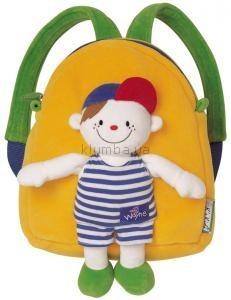 Детская игрушка K's Kids Мягкий рюкзак c игрушкой Иваном