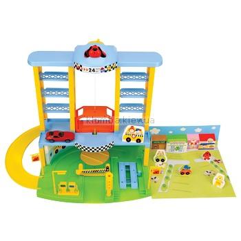 Детская игрушка K's Kids Паркинг и 4 машинки