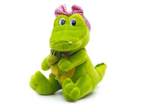 Детская игрушка Lava Крокодил-мама с малышом