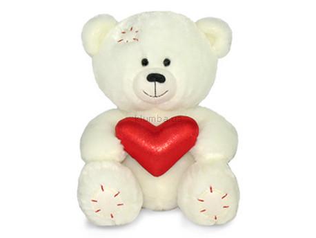 Детская игрушка Lava Медвежонок Масик с сердцем