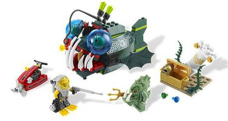 Детская игрушка Lego Atlantis Атака морского черта (7978)